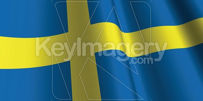 National Flag of Sweden Photo #12788