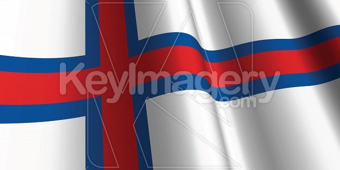 National Flag of The Faroe Islands Photo #12841