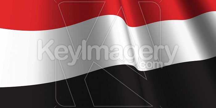 National Flag of Yemen Photo #12845