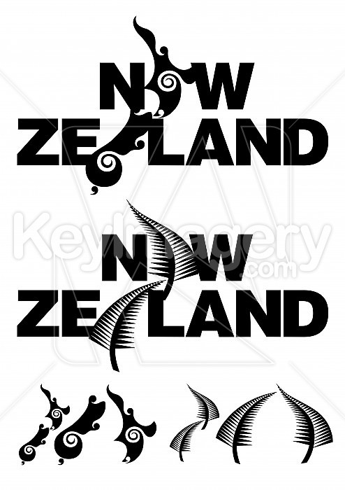 New Zealand Icon Illustration 37768  Copyright © MikeWalen
