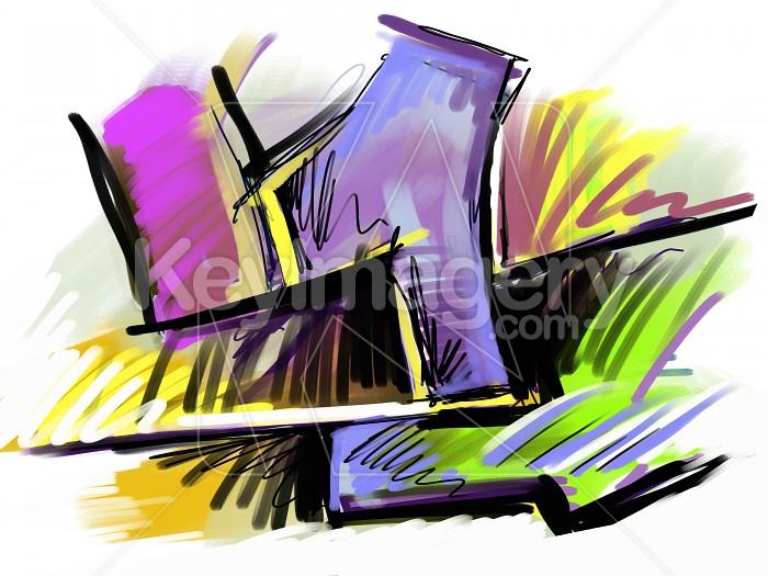 Oil Pastel Graffitti Photo #2503