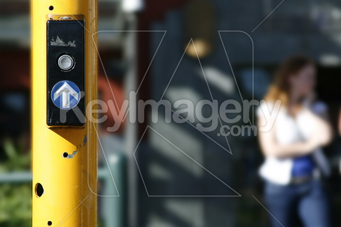 Pedestrian Crossing Signal Button Photo #4424