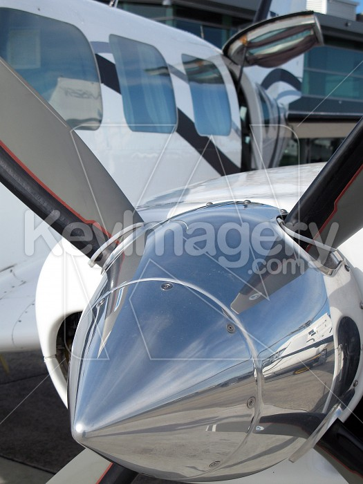 Propeller close-up Photo #4182