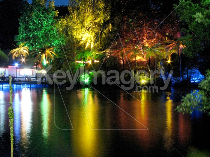 Relections of a rainbow of colours Photo #6544