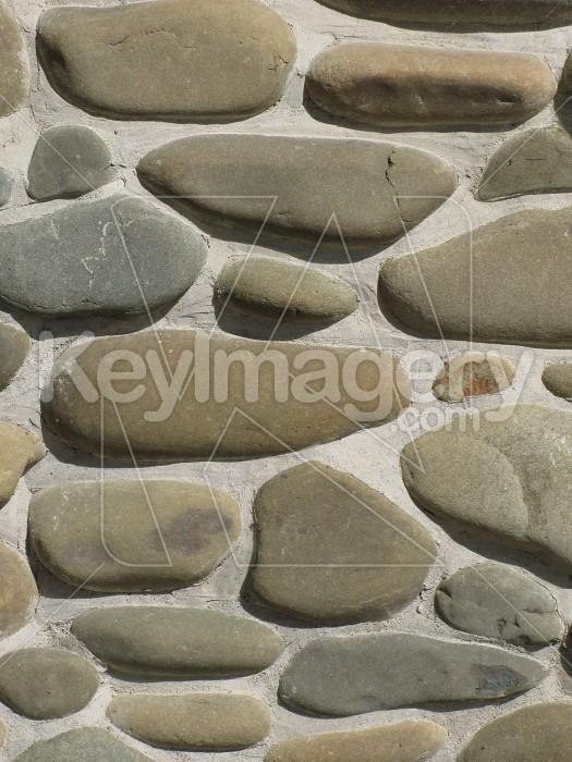 Riverstone wall Photo #4290