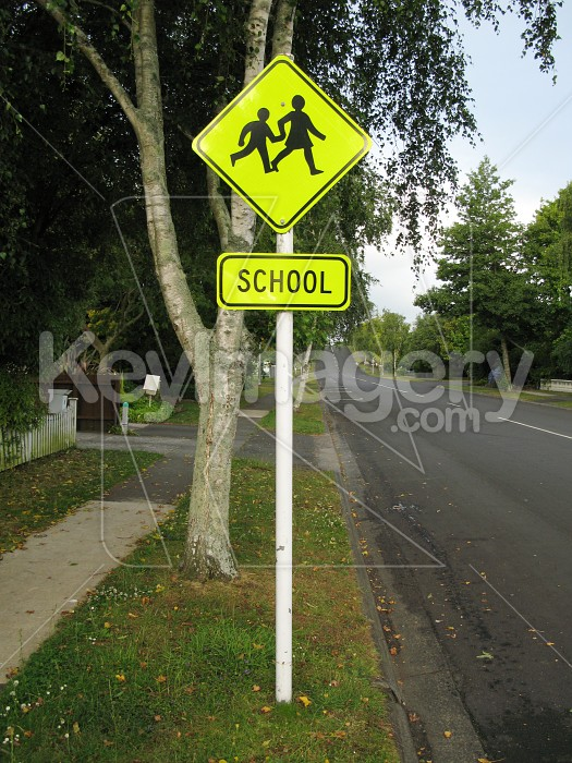 School road sign 2 Photo #528