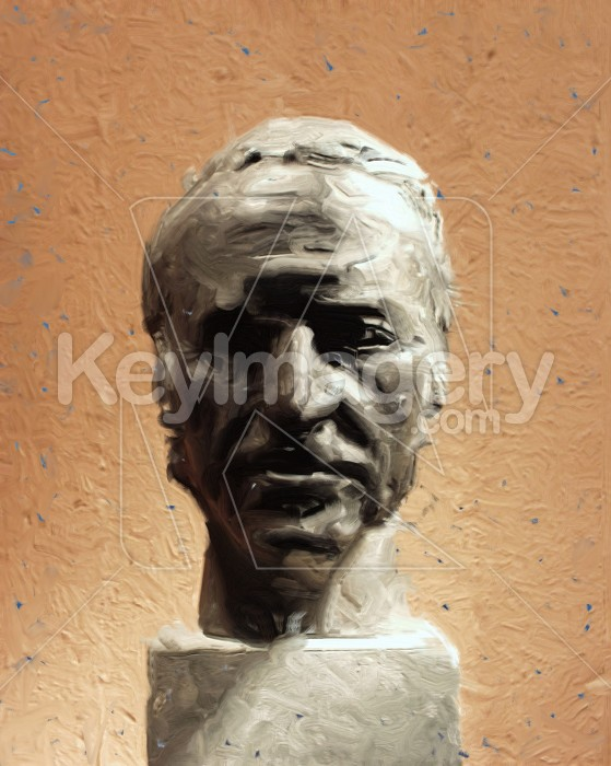 Statue Head (oil painting) Photo #2542
