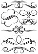 Vector Scroll Elements