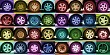 Assorted Wheels (Coloured)