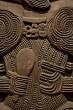 Close-up of Maori Carving