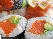 Sushi portions