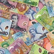 Pile of New Zealand Money