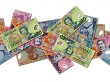 Scattered NZD notes