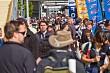 Crowds at Hamilton 400