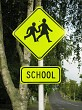 School road sign 1