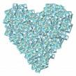 NZ Money Love Heart