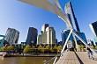The Yarra Footbridge, Melbourne