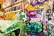 Graffiti in Centreway Alley, Melbourne