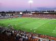 A Rugby match at Waikato Stadium