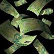 The falling New Zealand dollar