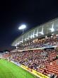 Waikato Stadium at night rugby game