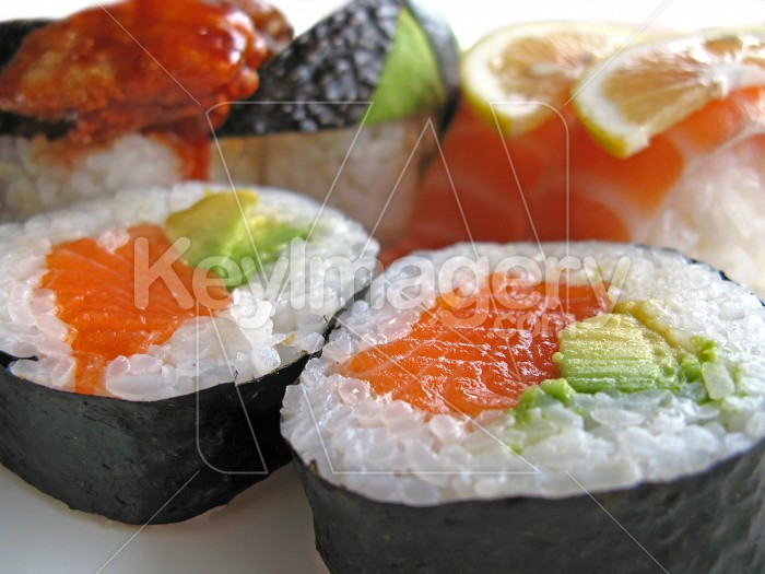 Sushi portions Photo #2421