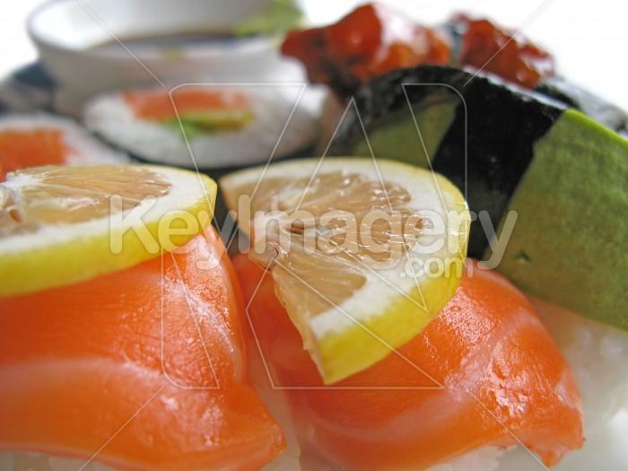 Sushi portions Photo #2422