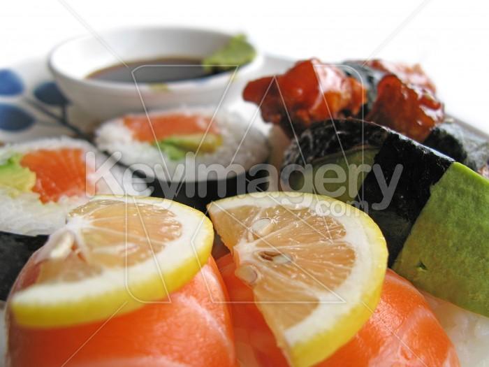 Sushi portions Photo #2423