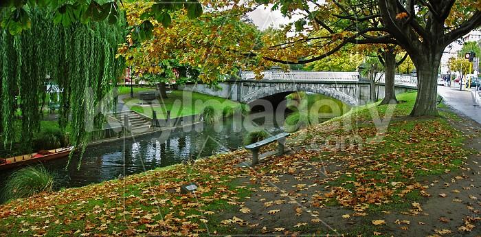 The Avon River in Autumn Photo #790