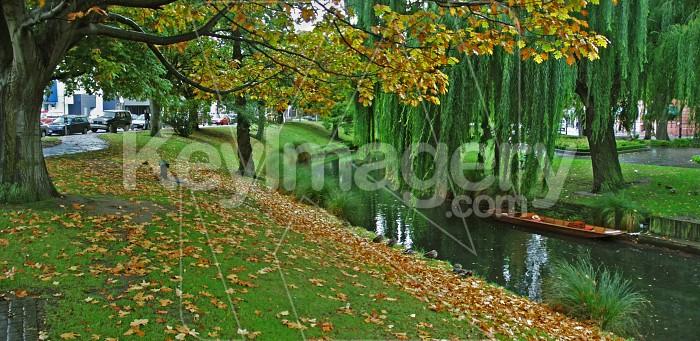 The Avon River in Autumn Photo #791