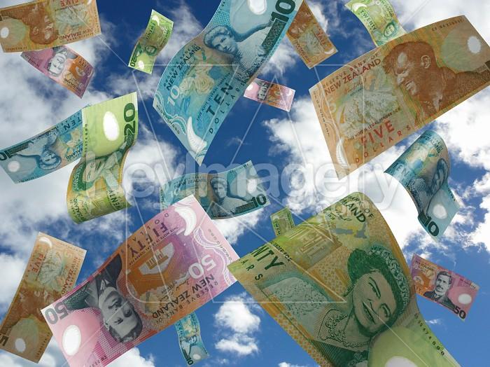 The falling Kiwi dollar Photo #12750
