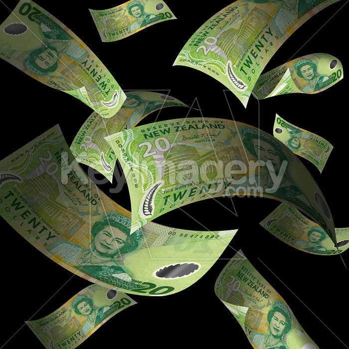 The falling New Zealand dollar Photo #727