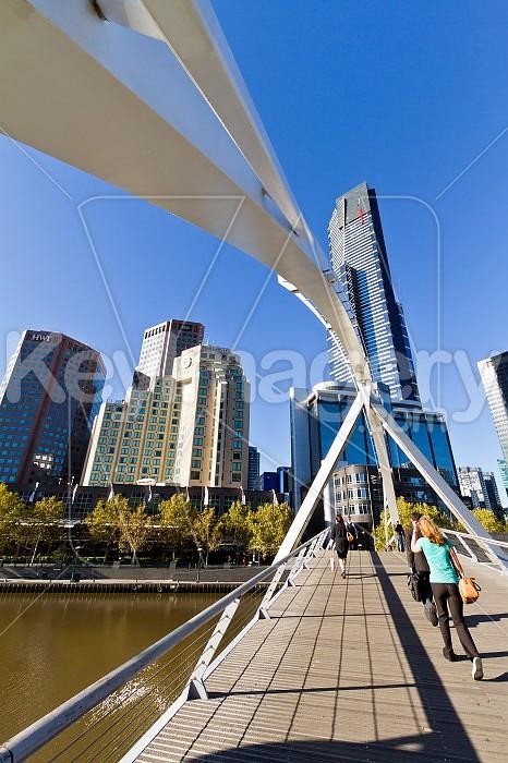 The Yarra Footbridge, Melbourne Photo #46457