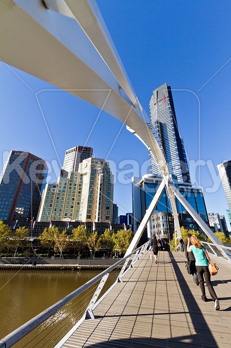 The Yarra Footbridge, Melbourne Photo #46457