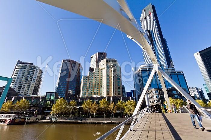 The Yarra Footbridge, Melbourne Photo #46458