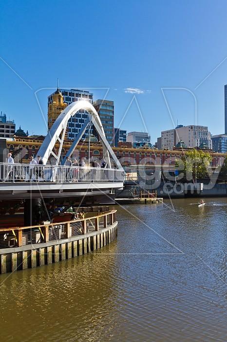 The Yarra Footbridge, Melbourne Photo #46460