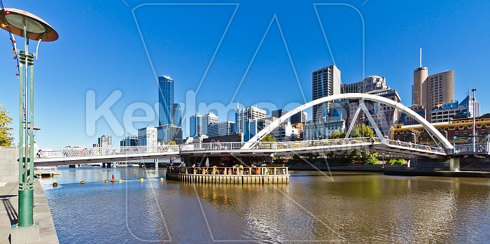 The Yarra Footbridge, Melbourne Photo #46462