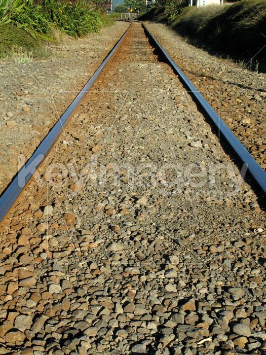 Train track vanishing point Photo #6539