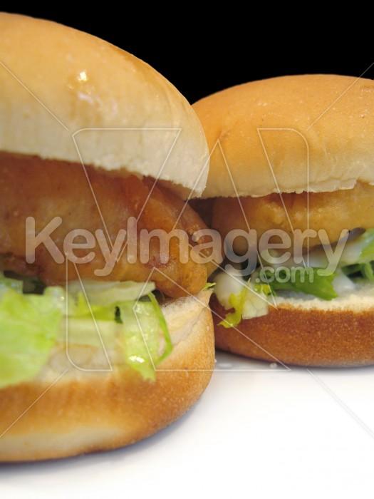 Twin fish burgers Photo #2239