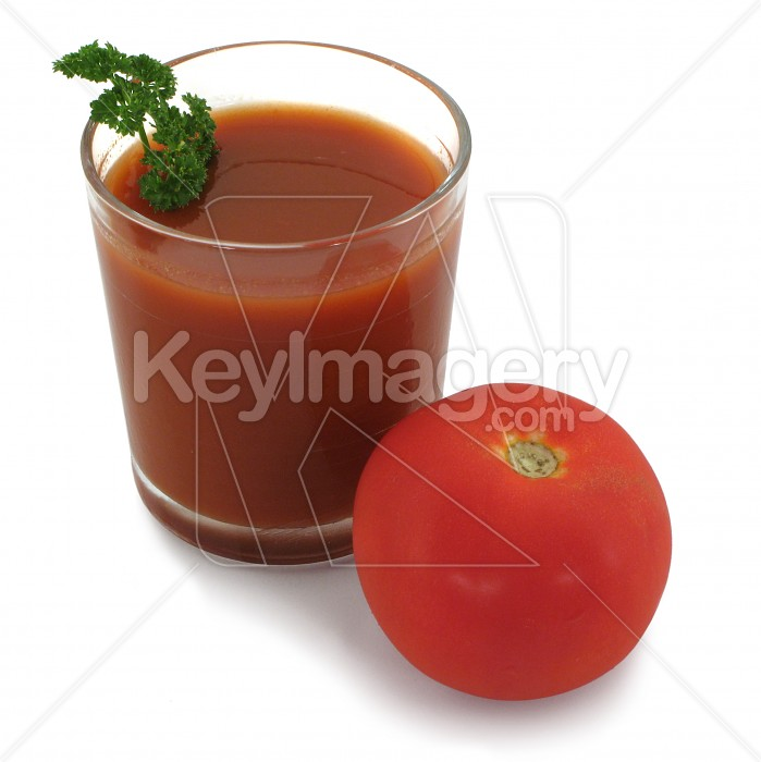Vegetable juice with whole tomato Photo #432