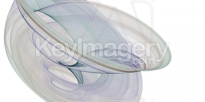 White Chaoscope Abstract Photo #12934
