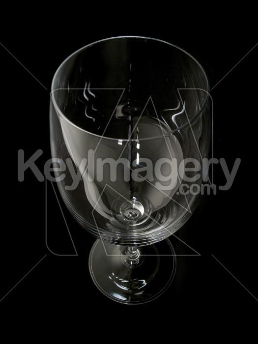 Wine glass isolated on black Photo #2297