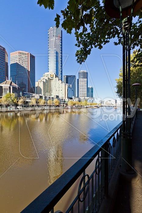 Yarra River, Southbank, Melbourne Photo #46455