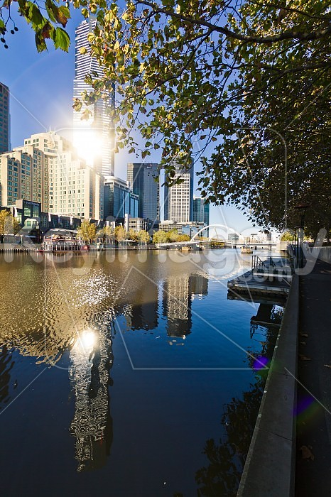 Yarra River, Southbank, Melbourne Photo #46456