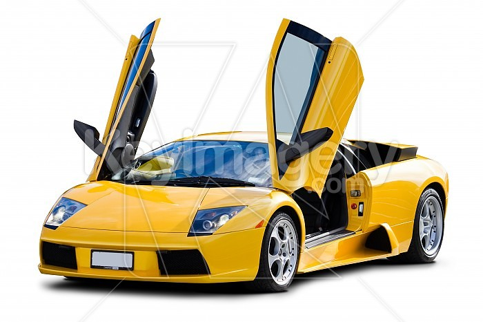 Yellow Sports Car Yellow Sports Car