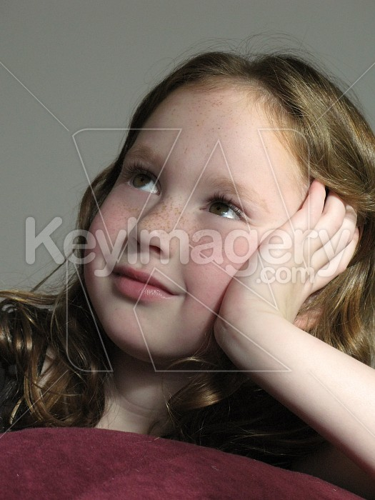 Young girl contemplating Photo #4772