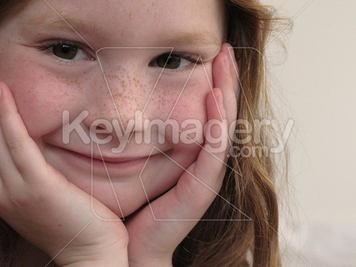 Young girl happy and smiling Photo #4769
