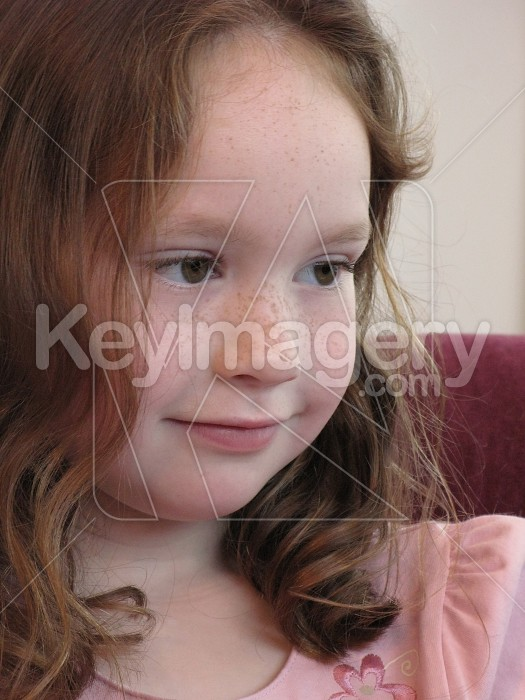 Young girl head and shoulders Photo #4759