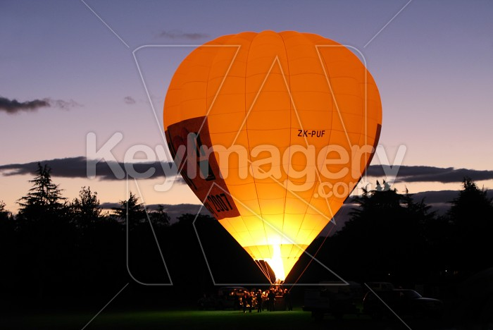 Balloons over Waikato - Night Glow Photo #764