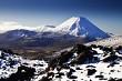 Mt Ngauruhoe from Mt Ruapehu